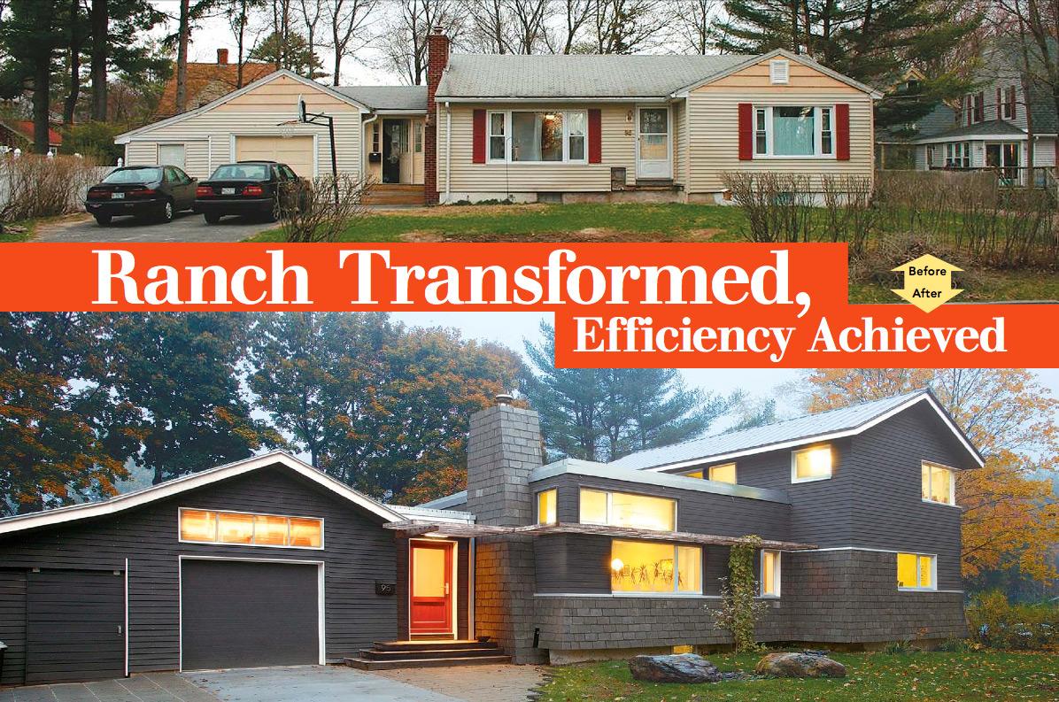 Ranch Transformed Efficiency Achieved Fine Homebuilding