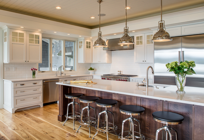 Lake House Kitchen Remodel Fine Homebuilding
