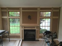 How to Layout a Paneled Fireplace Wall - Fine Homebuilding