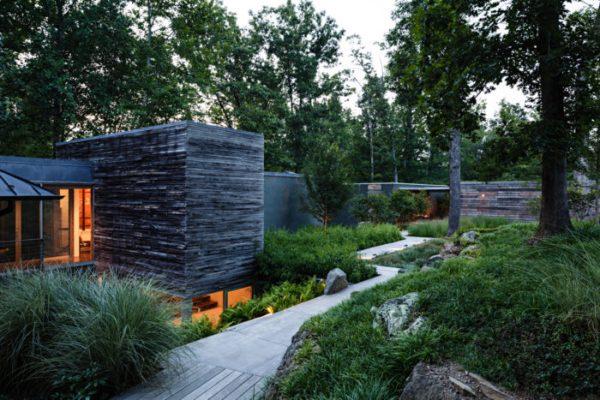 modern landscape - fine homebuilding