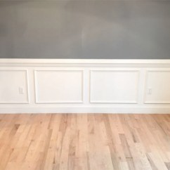 Picture Frame Moulding Below Chair Rail High Back Wooden Chairs Simple Shadow Box Detail Fine Homebuilding Article Image