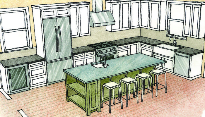 planning a kitchen island wine bottle themed decor multipurpose islands fine homebuilding whether they are for new home or remodeling their existing most of my clients ask an as soon we start to talk