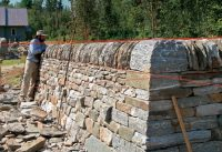 Stone Walls That Stay Built - Fine Homebuilding