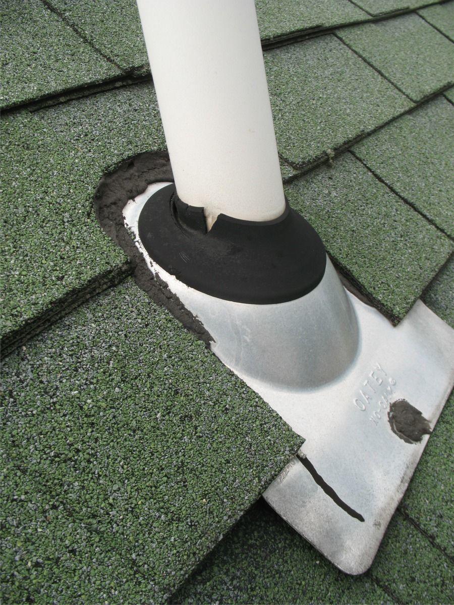 Plumbing Vent Boot Flashing Repair Method 1 Fine Homebuilding