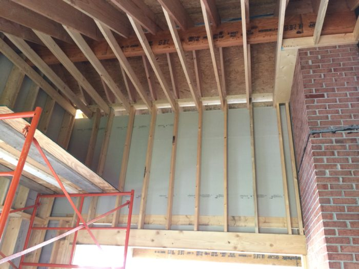 Framing a cathedral ceiling