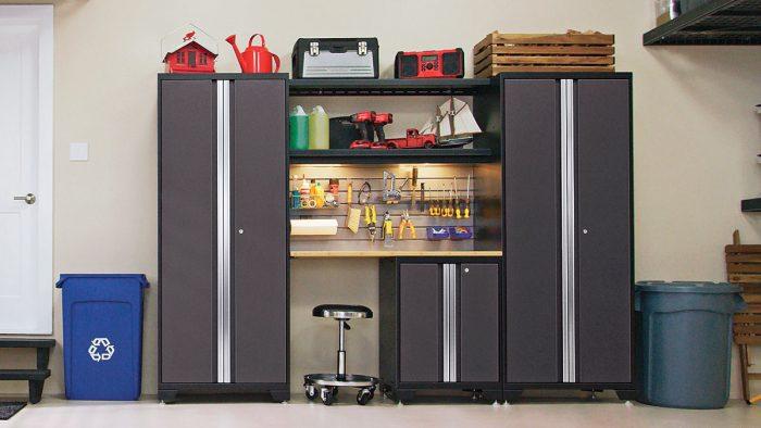 Steel Garage Storage Fine Homebuilding