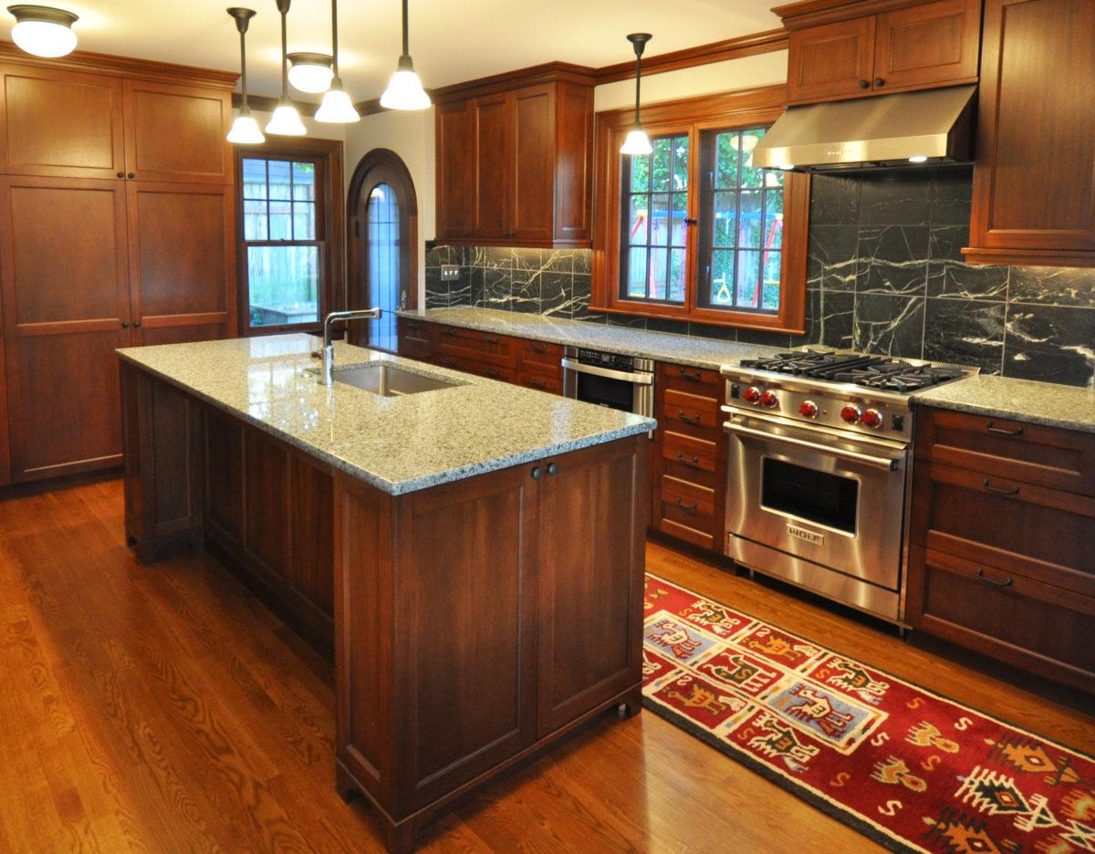 tudor kitchen remodel countertop cost fine homebuilding