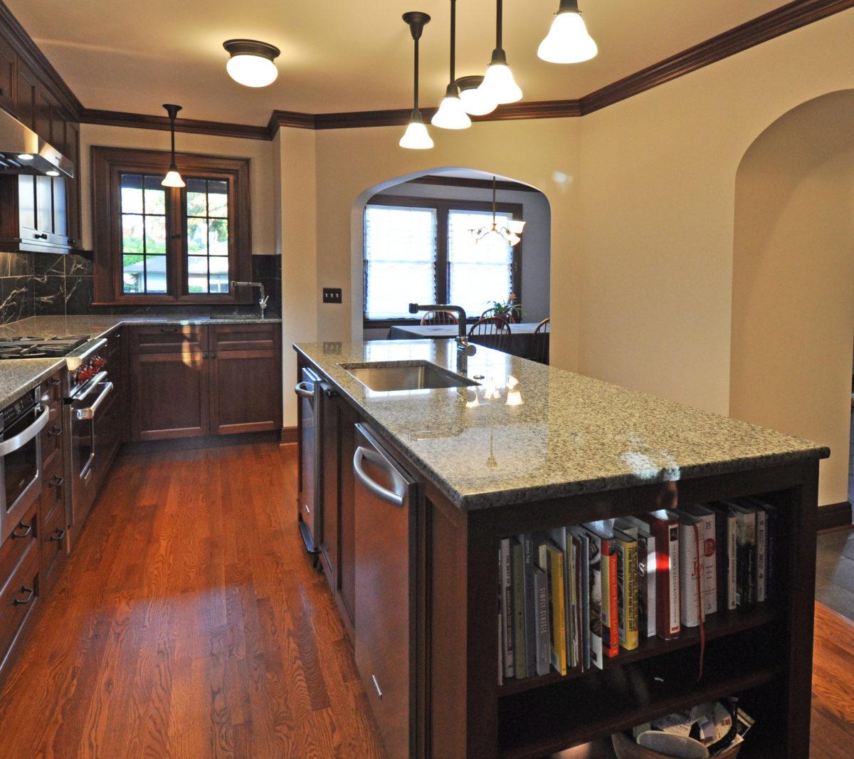tudor kitchen remodel ceiling light fine homebuilding