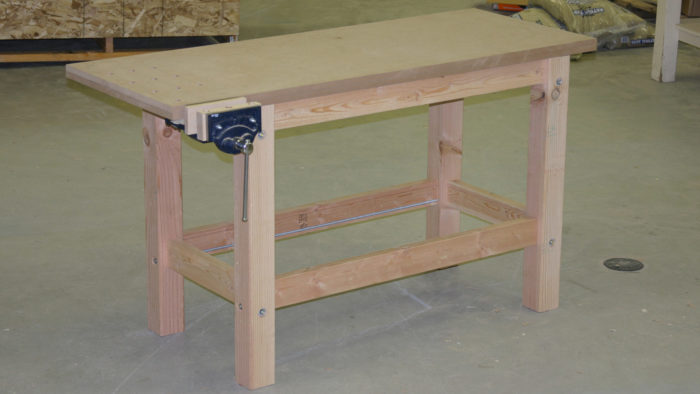 2×8 Workbench Top