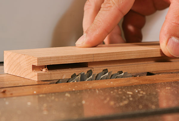 How To Cut Tenons On The Tablesaw With A Dado Set