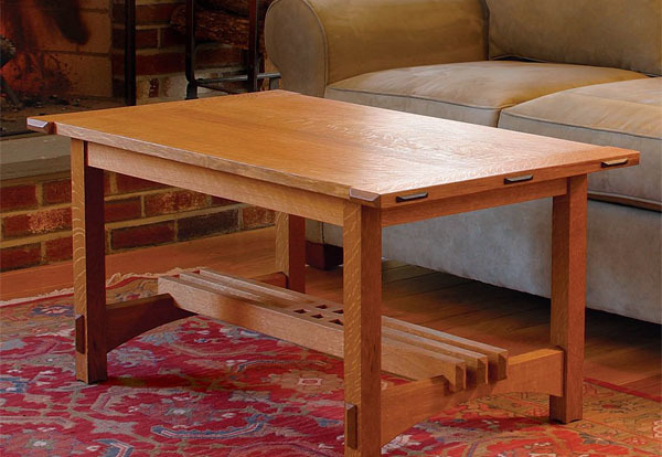 Coffee Table Puts Joinery On Display