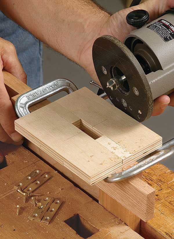 Perfect Hinges Every Time  FineWoodworking
