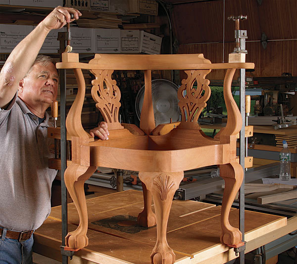 wooden corner chair ikea high cover build a classic with project plans finewoodworking synopsis this is loosely based on one that was made in new york around 1765 the cabriole legs relief shell carving and curved front rails