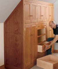Beautify Your Home with a Shaker Built-In - FineWoodworking