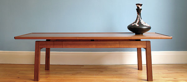 Stylish Coffee Table With Sleek Lines