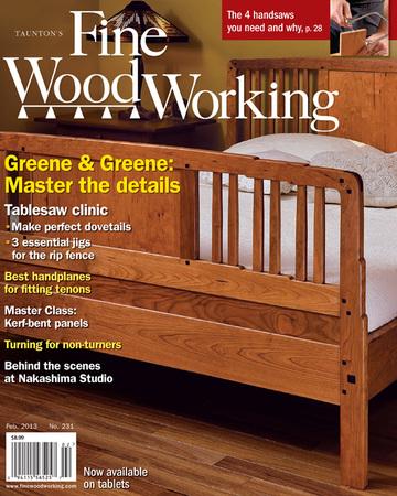 Fine Woodworking Adirondack Chair