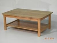 Red Oak Coffee Table - FineWoodworking