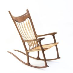 Rocking Chair Fine Woodworking Potty For Adults Walnut And Curly Maple Finewoodworking