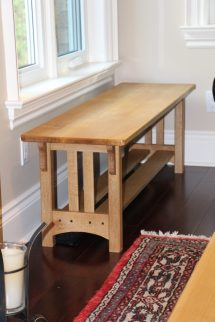 Set Of 3 Craftsman Style Tables - Finewoodworking