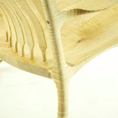 Rocking Chair Fine Woodworking Carex Transport Review Curly Maple Double Finewoodworking