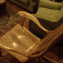 Rocking Chair Fine Woodworking Folding Floor Uk Maple Rocker Sam Maloof Inspired Finewoodworking