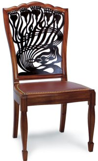 Art Nouveau-style Dining Chair - FineWoodworking