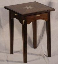 Small End Table: Exercise in Veneer and Inlay ...