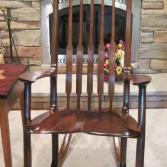Sam Maloof Chair Plans Big Joe Brio With Built In Speakers Rocker Finewoodworking