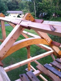 Timber Frame - Future Greenhouse Finewoodworking