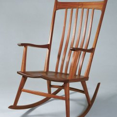 Rocking Chair Fine Woodworking What Is Best Height For Rail With 8 Ceilings Windsor Style Finewoodworking