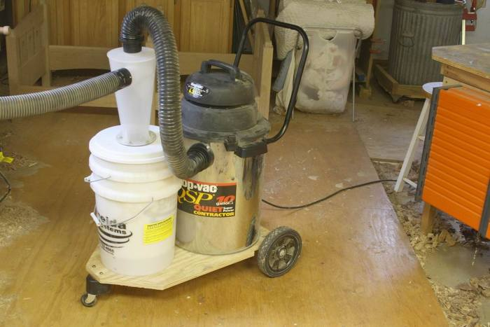 Buckethead Dust Collector
