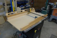 Table saw sled - FineWoodworking