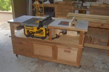Table Saw Router Cabinet