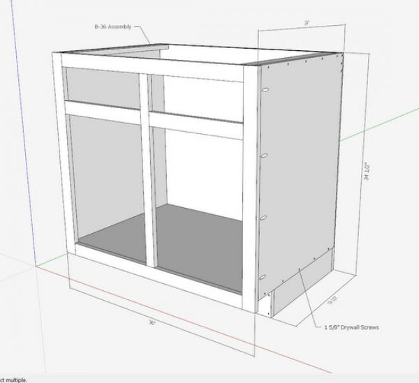 Kitchen Cabinets  The Engineers Way  FineWoodworking