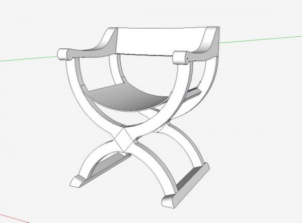 chair design sketchup history the curule construction and ancient x frame but there has been more interest in an italian folding of 16th century as shown here