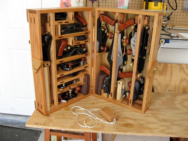hanging chair amazon raz shower with tilt hand plane chest - finewoodworking