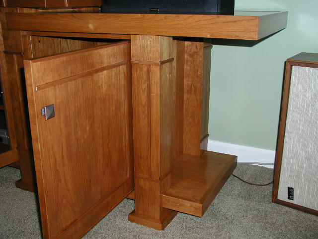 AampC Prairie Style Entertainment Center FineWoodworking