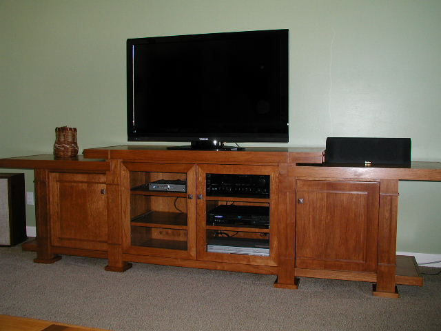 A&C Prairie Style Entertainment Center