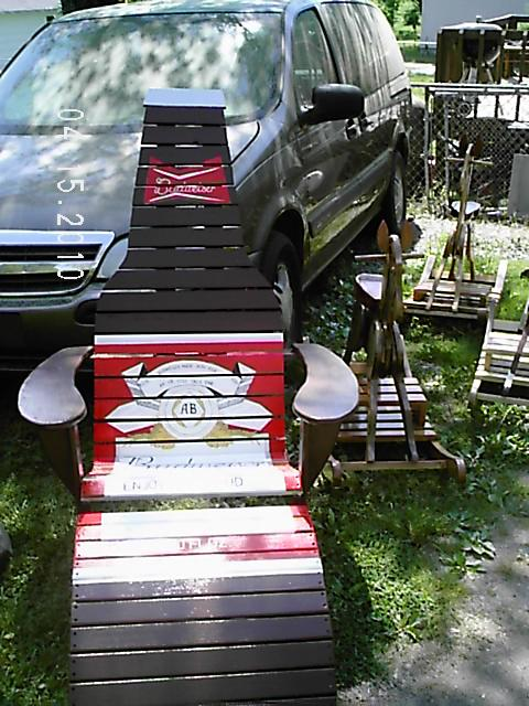 Beer Bottle Adirondack Chair  FineWoodworking