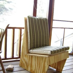How To Make A Plywood Chair Thai Design Usonian Styled Finewoodworking