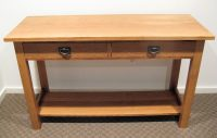 Mission Style Console Table - FineWoodworking