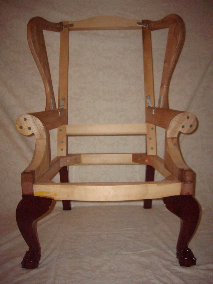 chippendale rocking chair kids table and set wing frame - finewoodworking