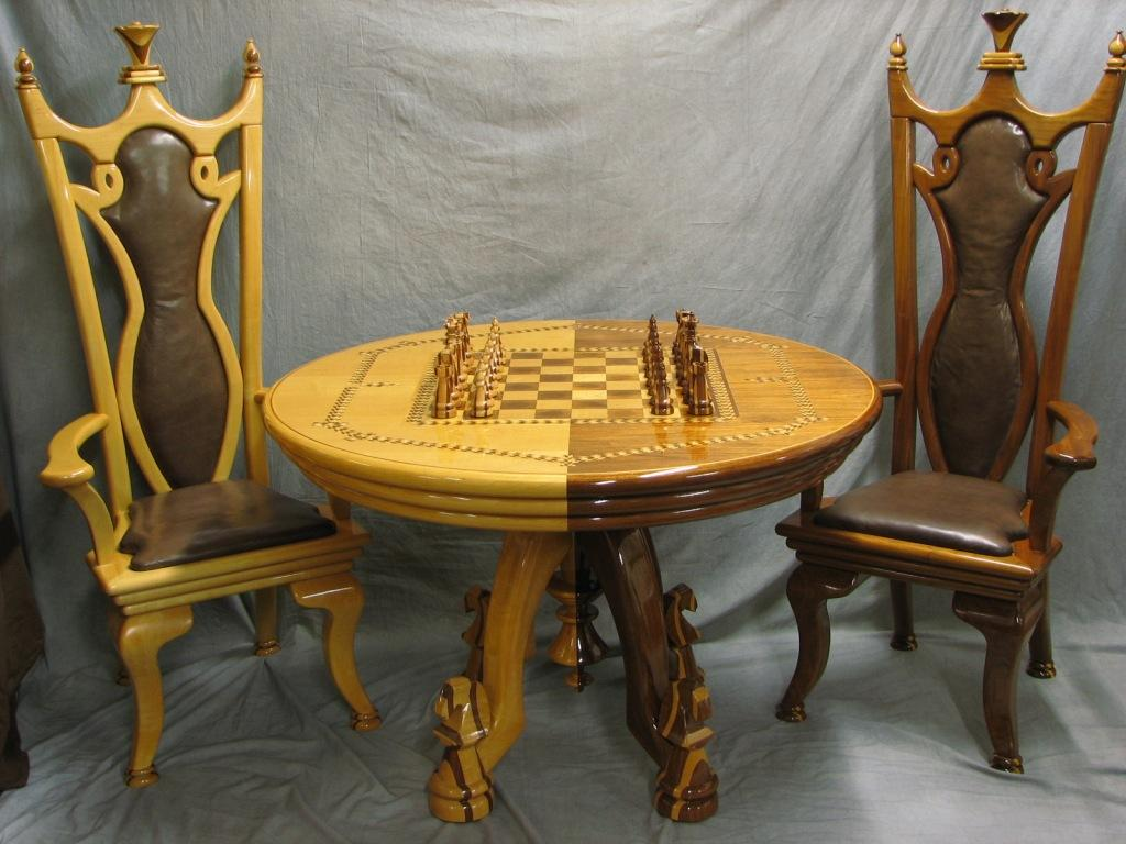 chess table and chairs chicco high chair straps set finewoodworking