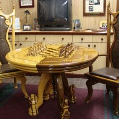 Chess Table And Chairs Chairman Meaning In Tamil Pieces Finewoodworking
