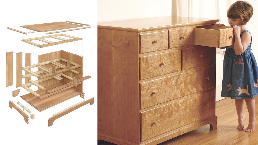 Cherry Chest of Drawers  FineWoodworking