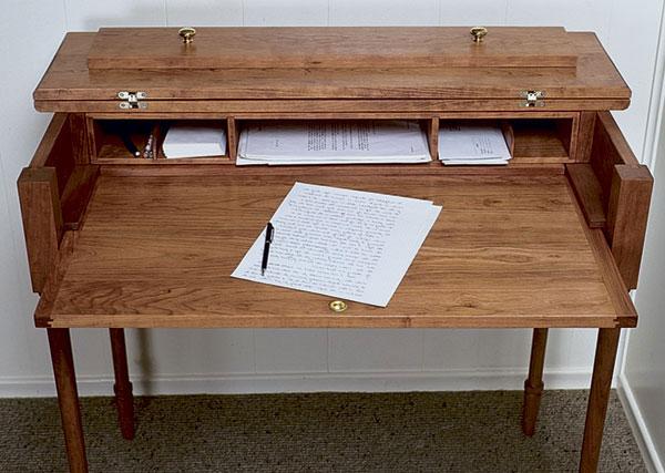 Convertible Desk  FineWoodworking