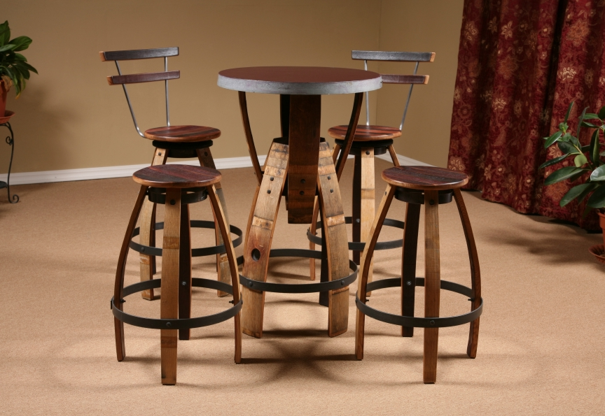 Wine Barrel Furniture FineWoodworking