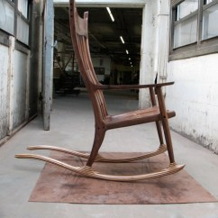 Sam Maloof Chair Plans Deer Blind Chairs Academy Rocking Reproduction - Finewoodworking
