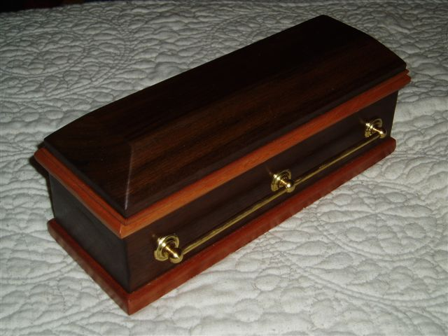 Coffin Jewelry Box For My Niece FineWoodworking