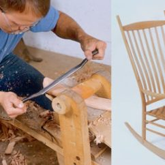 Rocking Chair Fine Woodworking Dining Room Seat Covers Finewoodworking Building A Bent Back Rocker
